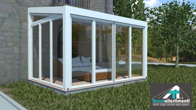 Vendita studio e progettazione serre bio climatiche e for Progettazione giardini siena